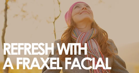Refresh Your Look for the Holidays with a Fraxel Facial