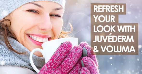 Erase the Signs of Aging with Juvéderm and Juvéderm Voluma